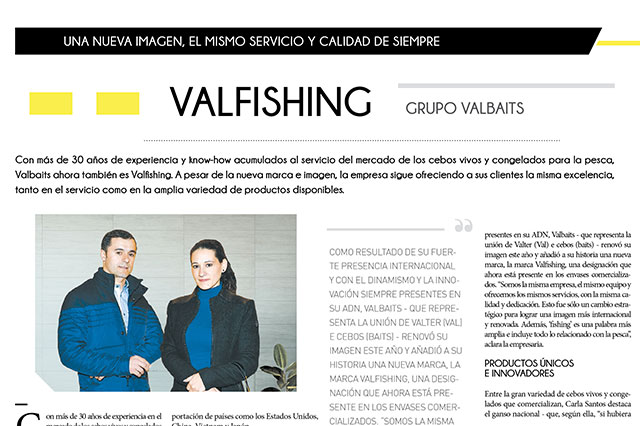 Valfishing - Grupo Valbaits